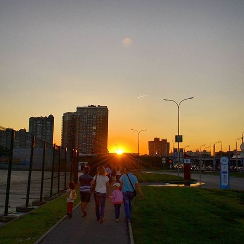 Summertime Eveningtime 2015август Hashtags instaday sunset kazan kzn kazangorod instasummer finakazan2015
