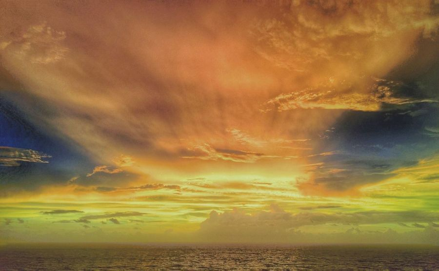 Beauty In Nature Nature Naturephotography Sky Landscape_Collection Water_collection Sunrise_Collection Clouds And Sky Cloud_collection  Clouds And Water Beach Photography Colour Of Life