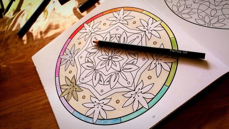 Coloring Mandalas!  Enjoy ✌ Moment Of Silence