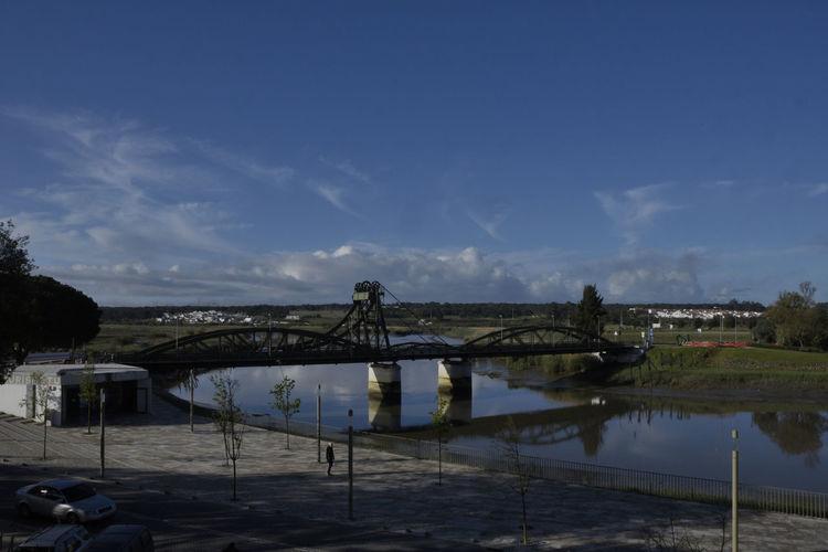 A Alcacer Do Sal Alentejo Bridge Céu Day Nature Ponte Portugal Reflection Reflexo  Rio River Sado Sky Village Water Water Reflections