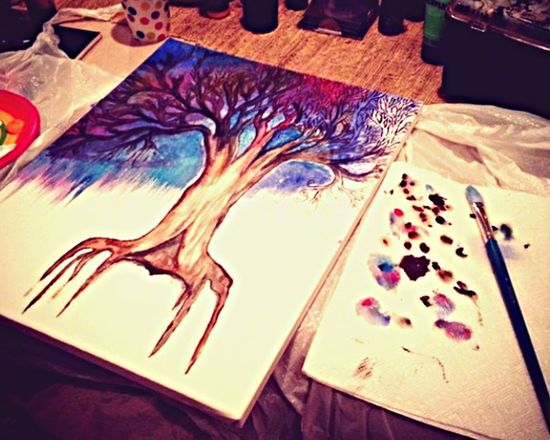 My Life . Art Trees Therapy 🌳