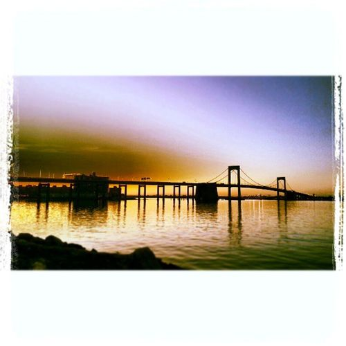 The bridge of wonder Bridgeatsunset Looksdifferent IsThisRealLife