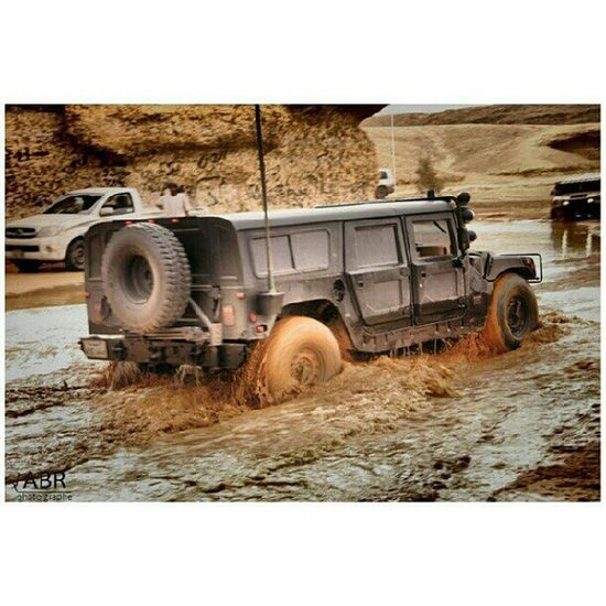 ارشيفية انستاقرام Image Hummer h3 h1 in the valley and the mountains Ring near Riyadh ksa camera Canon 50d pictures cars water