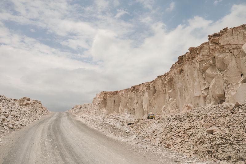 Canteras del Sillar Arequipa Canteras De Sillar Landscape Mining Peru Quarry Rocks Sillar Unique Whitelandscape