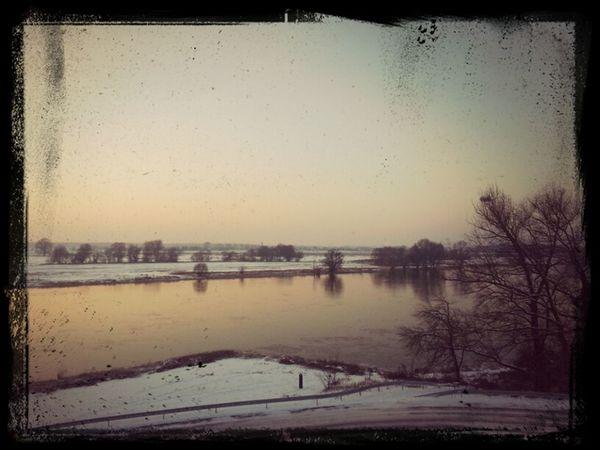 Unten Am Fluss Elblandschaft