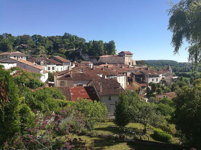 Aubeterre Charente France Aquitaine