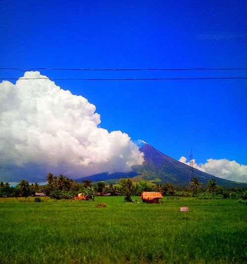 Mountain Cloud - Sky Nature Beauty In Nature Outdoors Ilovephilippines ProudPinoy Mobilephotography Mayon Volcano Daraga, Albay Philippines Eyeem Philippines