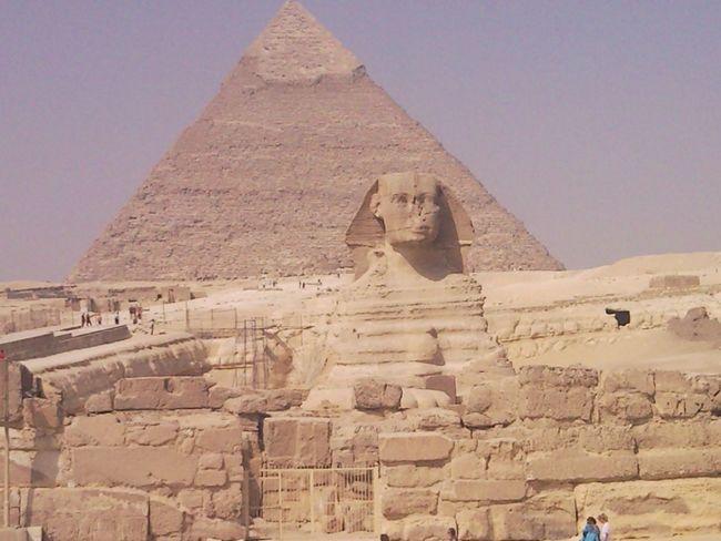 Sfinx Pyramids Giza, Caïro, Egypt