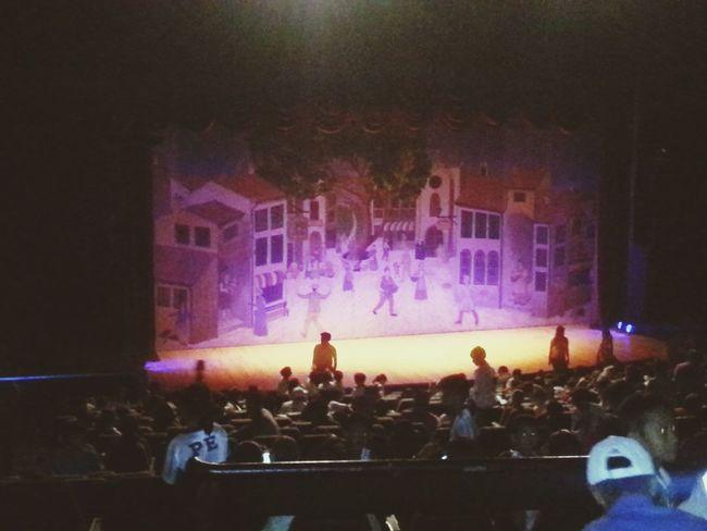 Bon journo!! Little puppet awaken! Pinocchio the little bambino Performance Stageplay