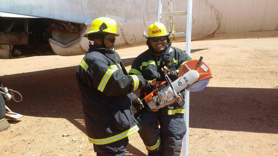 Training Fireman Fun @work Airport