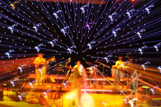 Night Motion Concert Lights