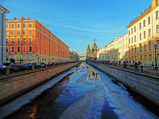 архитектура город Architecture Photography Sanktpetersburg Санкт-Петербург Springtime Architecture_collection старыйгород весна2015 Water Architecturelovers Architecture Water Reflections санктперербург небоголубое любитесвойгород Griboedov Channel Petersburglife Sky_collection Skyporn