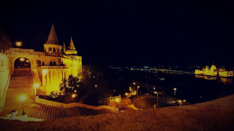 Budapest, Hungary Hungary🇭🇺 Nightphotography Night Lights Nightshot Budapest Castle Budapest By Night Beautiful ♥ Your Ticket To Europe The Week On EyeEm