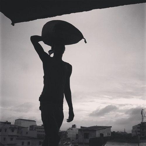 Construction worker ! 07.06.2015 Js Jashimsalam Photographer Photojournalism Photojournalist Documentary Dailylife Worker Labour Construction Site Instagram Chittagong Chottogram Everydaybangladesh