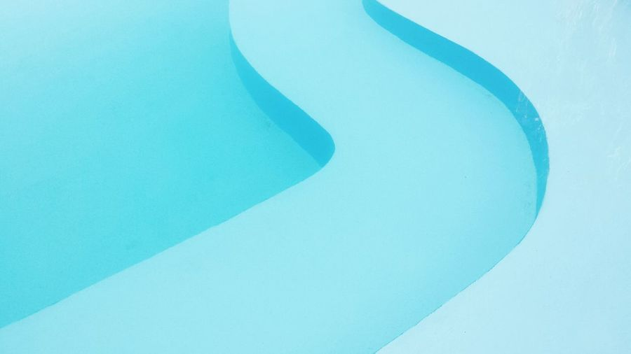 Swimming Pool Swimming Swim Blue Geometry Perspective Stairs Grece Pivotal Ideas Water Waves No People Minimalist Architecture The Architect - 2017 EyeEm Awards Sommergefühle
