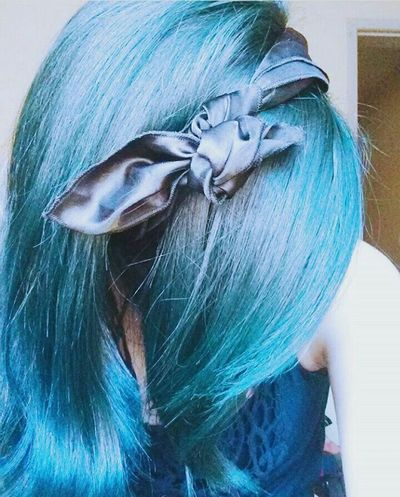 Color Hairblue Blue Colorlover