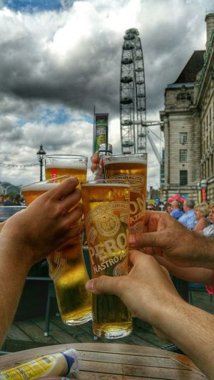 Hanging Out Better Together Drinks The Moment - 2015 EyeEm Awards City Of London Peroni LondonEye Snapseed_HDR