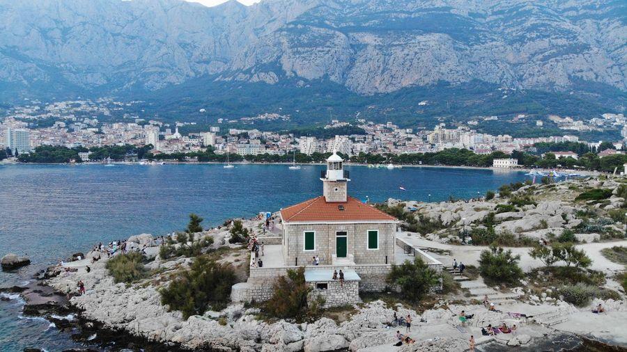 EyeEm Selects EyeEmNewHere Panoramic Makarska, Croatia Dronephotography Sveti Petar Idyllic Tranquil Scene