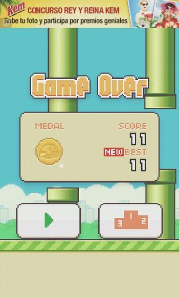 Flappy Bird Juego New Record :)