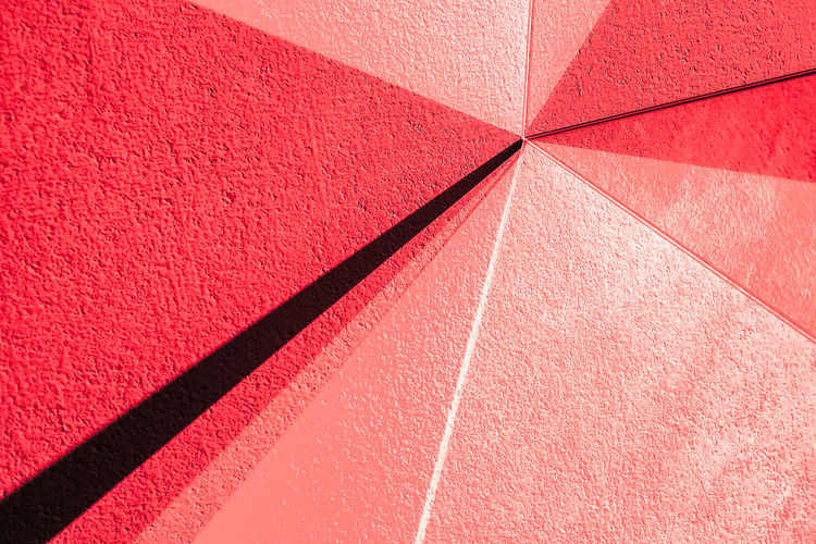 Red Backgrounds No People Full Frame Pattern Close-up Textured  Shadow Design Track And Field Geometric Shape Day Shape Sunlight Abstract Indoors  Mirror Reflection Light And Shadow 17.62°