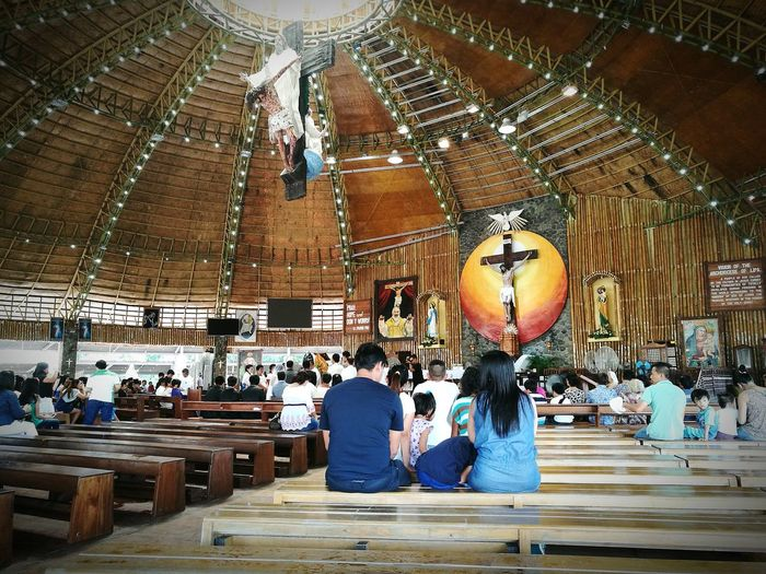Padre Pio Shrine Togetherness Tranquility Place Of Worship Famous Place Church
