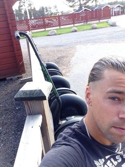 Segway Work Summer Sweden