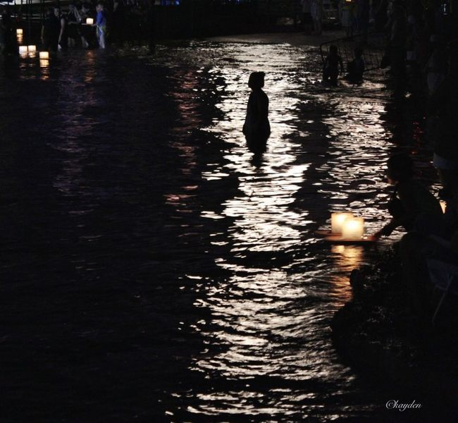 Hawaii lantern festival Taking Photos Night Lights Water_collection EyeEm Best Shots