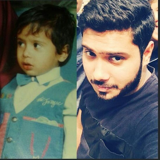 Then to Now a very long journey. ♥Alhumdulillah♥ Youngme OldMe Longjorney Nobeard  To  Beard