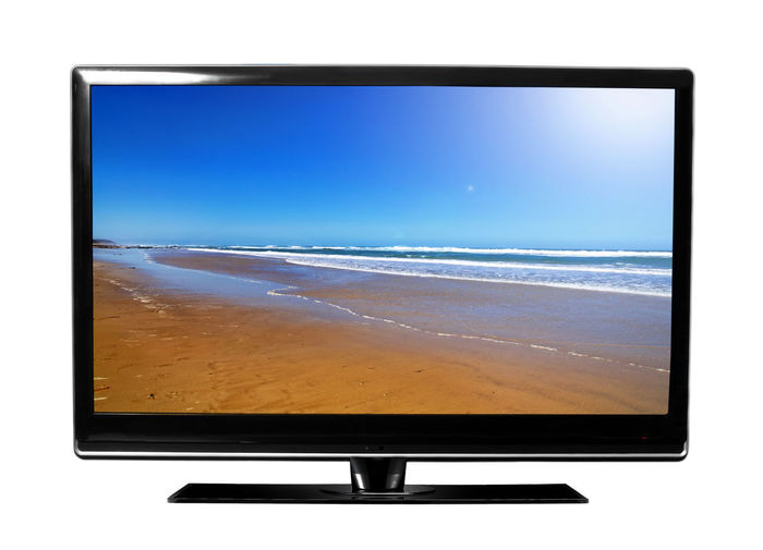 Day Device Screen Flat Screen Liquid-crystal Display No People Sea Technology Television Set Wide Screen