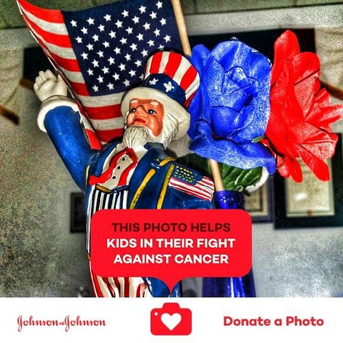 Stand together and we are never alone even over time No People Adopt To Save A Life Donation = Sharing Special Effects Johnson & Johnson Donate To Help Toy Uncle Sam Samred Whiteandblue