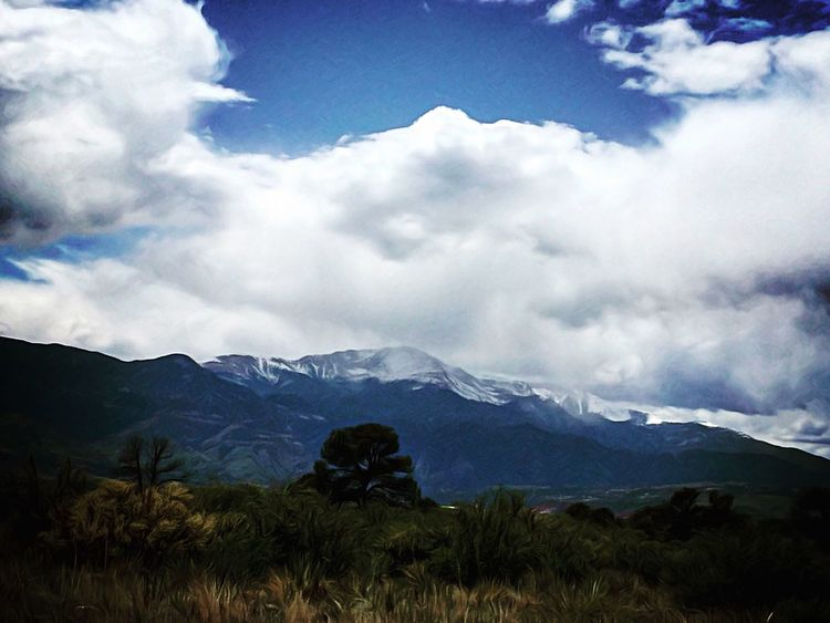 Pikes Peak The Great Outdoors - 2016 EyeEm Awards Landscape_Collection Colorado Popular IPhoneography Eye4photography  Frontrange Fourteeners