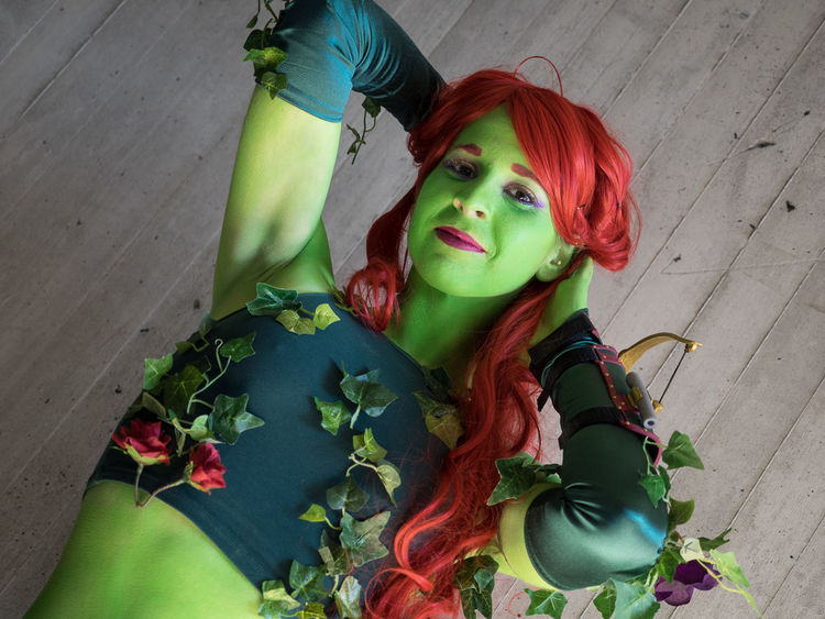 Cosplay Cosplayer Cosplaygirl New York Comicon NYCC NYCC2015 Poisonivy Sexygirl