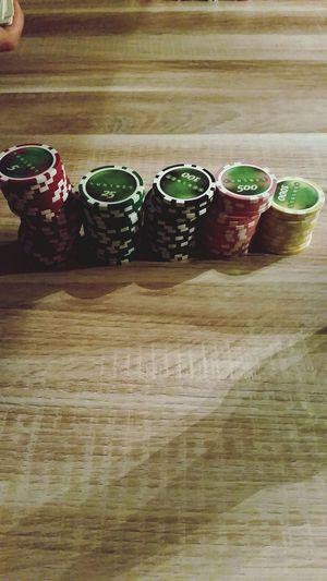 Yesterday Evening Poker Night Friends Fun