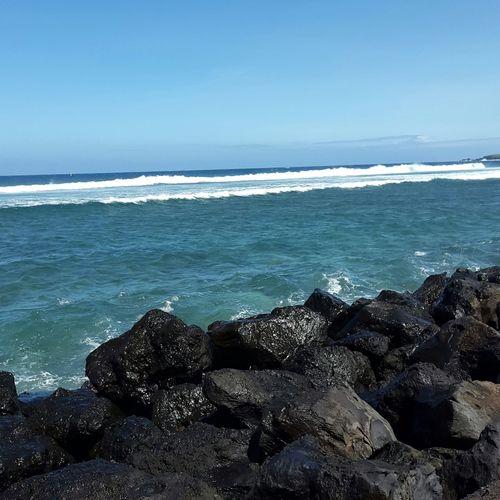 Beautiful Landscape Saintleu Reunion Island Sea