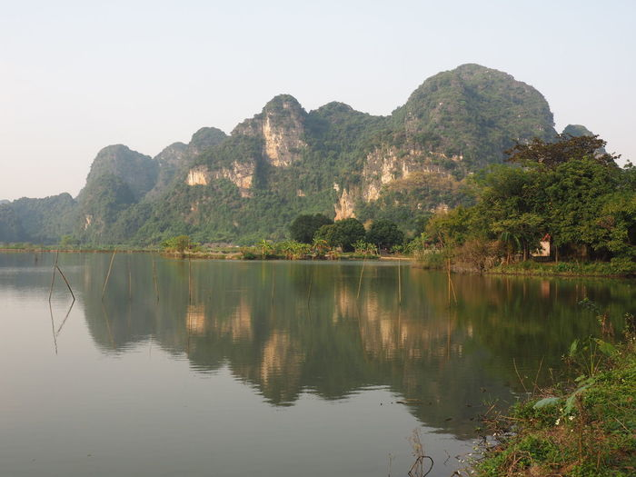 'The inland Ha Long Bay' Tam Coc Reflection Water Beauty In Nature Tranquil Scene Tranquility No People Tree Nature EyeEm Nature Lover
