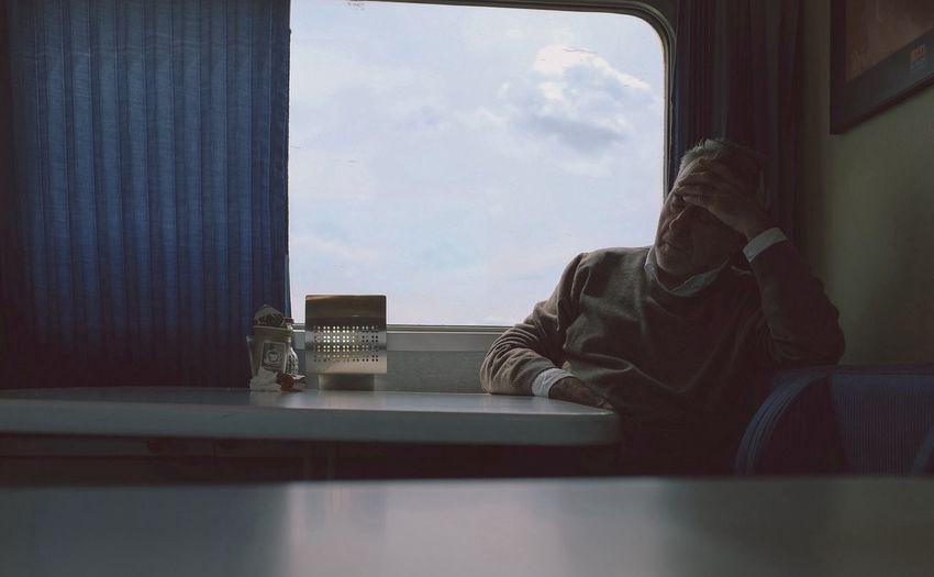 On The Train Portrait Fuji X100s The Portraitist - 2014 EyeEm Awards