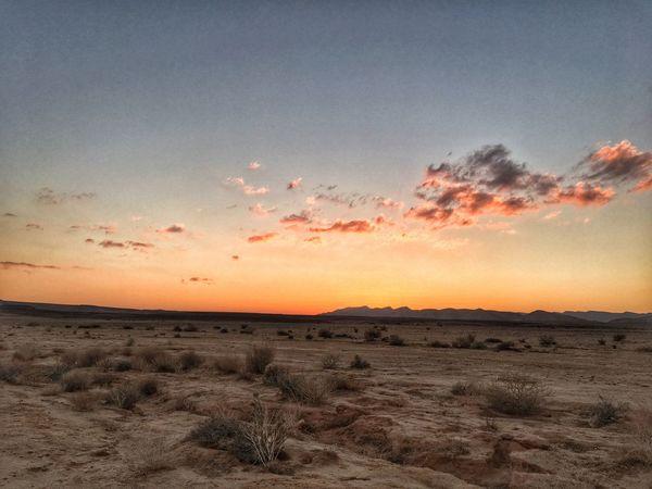 Sunset Desert Nature