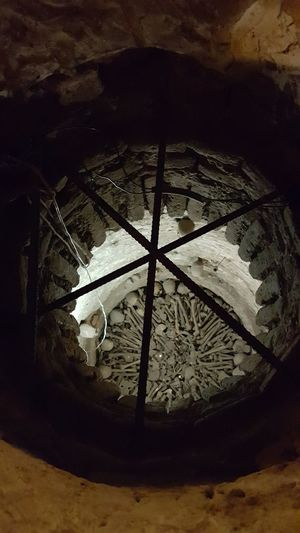 High Angle View No People Bones Human Bones Catacombs Check This Out! Old Architecture Lima,Perú