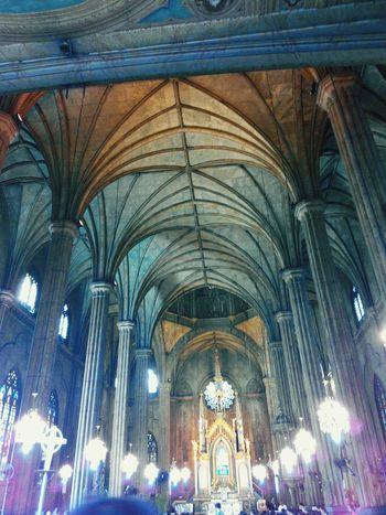 bisita iglesia 🙏 at San Sebastian Church Holyweek Eye4photography  Eyemphotography Philippines Manila