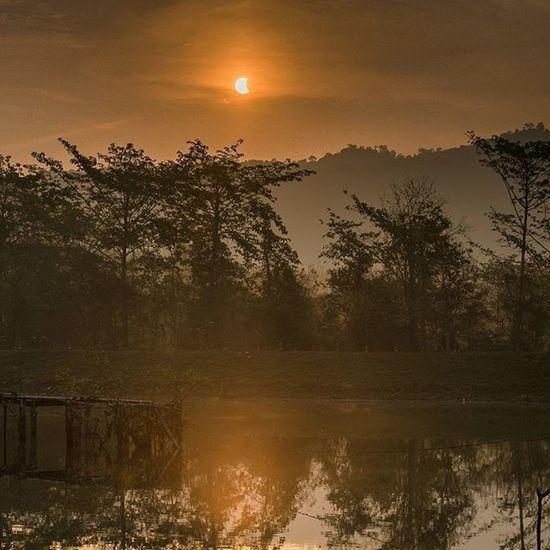 Solar Eclipse March 2016 Solareclipsethailand2016 Eclipse Astronomy Thailand Solareclipse2016 Thetrippacker Lumixnz Lumixfriend Love_natura Bestoftheday Landscapelovers Walkwithuniverse Thaitraveling Thailand_allshots Geoleserfoto