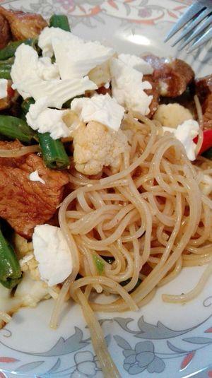 Spaketty Chesse  Food Homemade