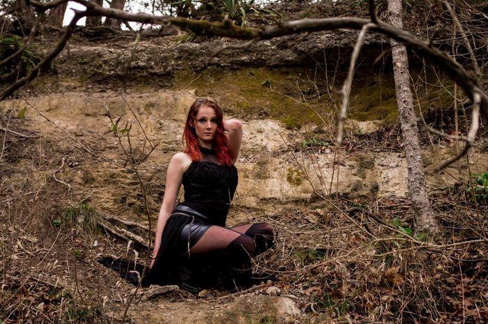 Photo 15 green belt shoot. Model: Viccy Lemmond Photography Texas Beautiful Girl Model Nature Photoshoot Austin Green Belt
