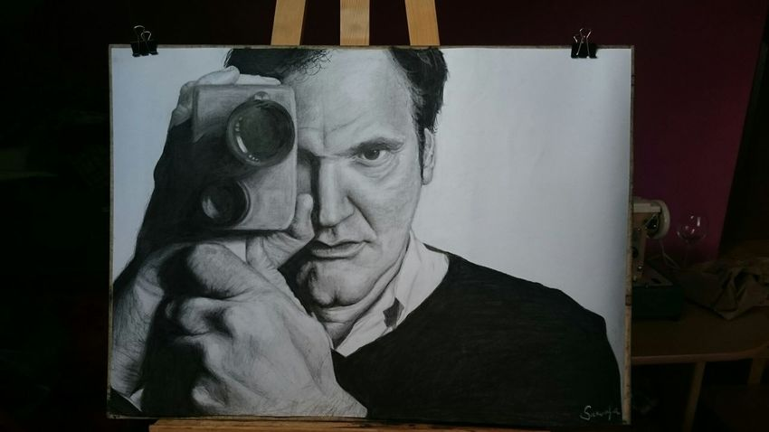 Art My Artwork Chriatmas Gift For my brother Michael <3 Quentin Tarantino
