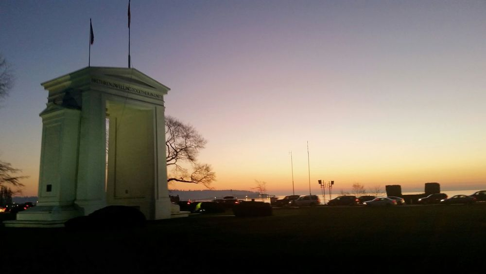 Peace Arch USA Roadtrip Nature Seattle My Best Photo 2015