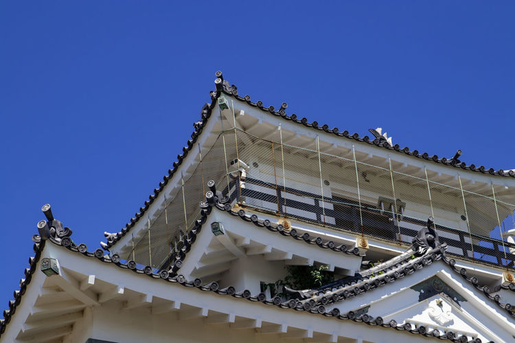 Hamamtsu Castle Blue Sky Architecture Photography New View Detail Details Of Building No People Summer Sun Architecture Historical Building Historic Historical Castle Japanese Castle Japanese Architecture Japan White Hamamatsu Hanamatsu Castle City Clear Sky Sky Architecture Built Structure Building Exterior Architectural Feature Architecture And Art