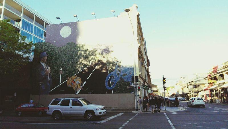 Adelaide Street Art Street Photography Sunny Day