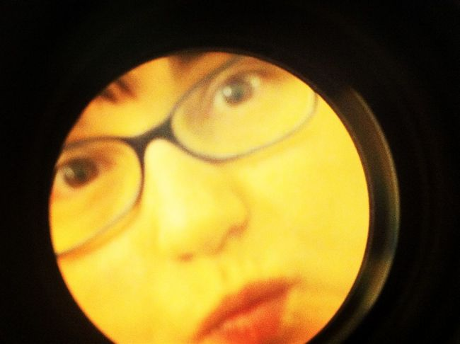 Nikon lens and iPhone and me