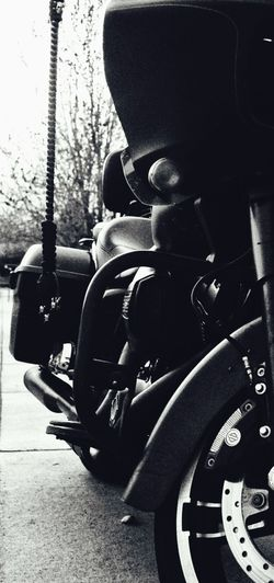 Black And White Photography Close-up Day Great Neighbors Harleydavidson Mode Of Transport Motorcycle Outdoors Resist Transportation