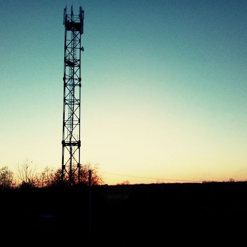 Tower Sunset Net назакате