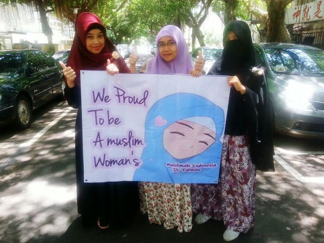 We Proud to be a Muslim Woman's Muslim Woman Muslimah I'm Proud To Be Muslim Hijabers Muslims Taking Photos Getting Inspired My Friends Hijab Hello World